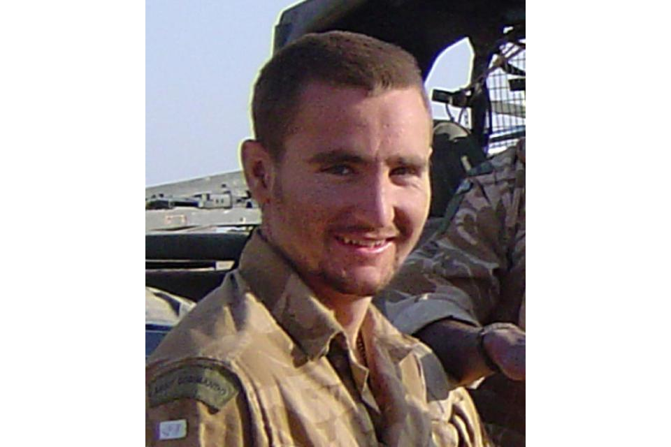 Lance Bombardier James Dwyer, 29 Commando Regiment Royal Artillery (All rights reserved.)