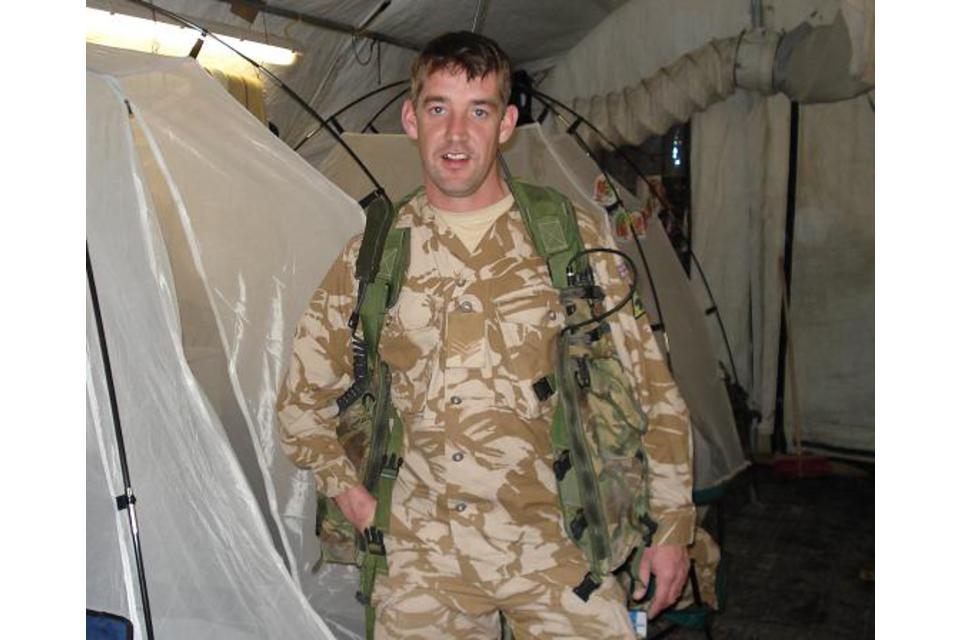Sergeant Graham Hesketh, 2nd Battalion The Duke of Lancaster's Regiment (All rights reserved.)