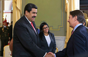 Maduro, Rodriguez and Saville