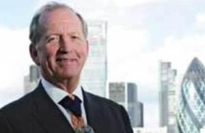 The Lord Mayor of the City of London Alderman Alan Yarrow