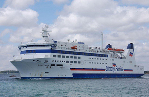 Roll on, roll off passenger ferry Barfleur