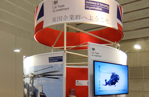 Britain represented at international defence exhibition MAST Asia 2015