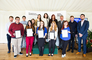 sellafield apprentices start brathay challenge with bang