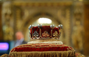 crown - state opening of parliament