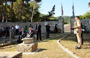 British WWII veterans, now in their 90s, commemorate fallen comrades on the Croatian island of Vis