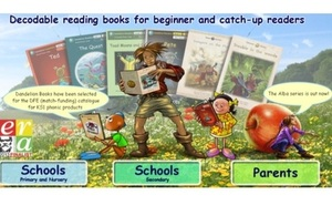 Dandelion books series by Phonics Books