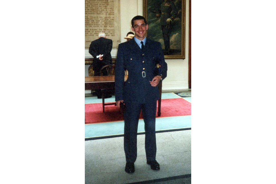 Flight Lieutenant Steven Swarbrick (All rights reserved.)