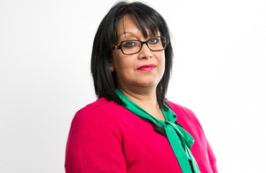 International Development Minister Baroness Verma.