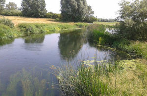 Work begins next week to count the number and type of fish in the River Nene