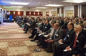 Delegates at Dstl's Supplier Day 2014