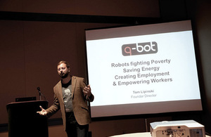 Tom Lipinski of Q-Bot Ltd