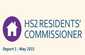 HS2 Residents' Commisioner - Report 1 - May 2015