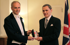Mr Philippe Fauchet honoured by The Queen