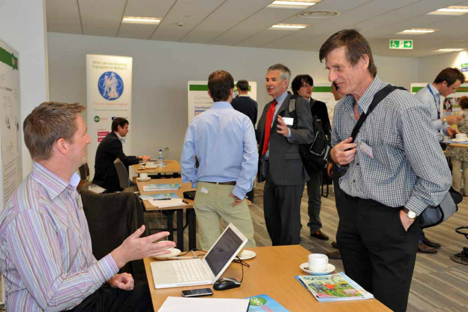 GeoVation Showcase at Ordnance Survey's head office (image courtesy of www.flickr.com/photos/osmapping/).