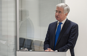 Defence Secretary Michael Fallon MP