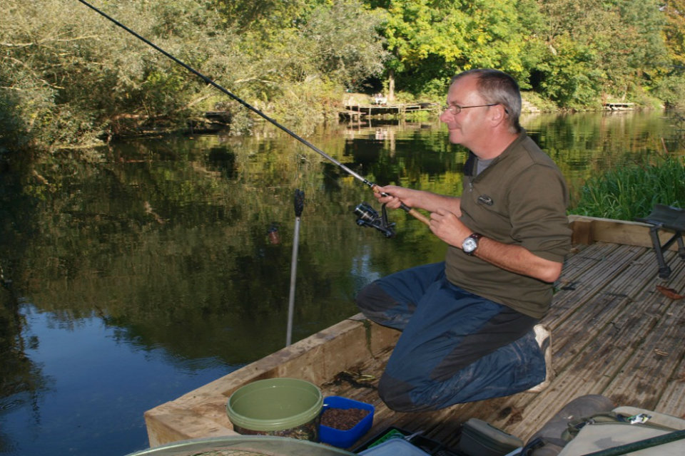 Fishing on Penton Hook Island