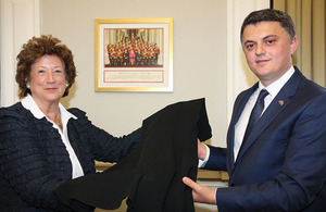 Baroness Anelay with Kosovo Ambassador