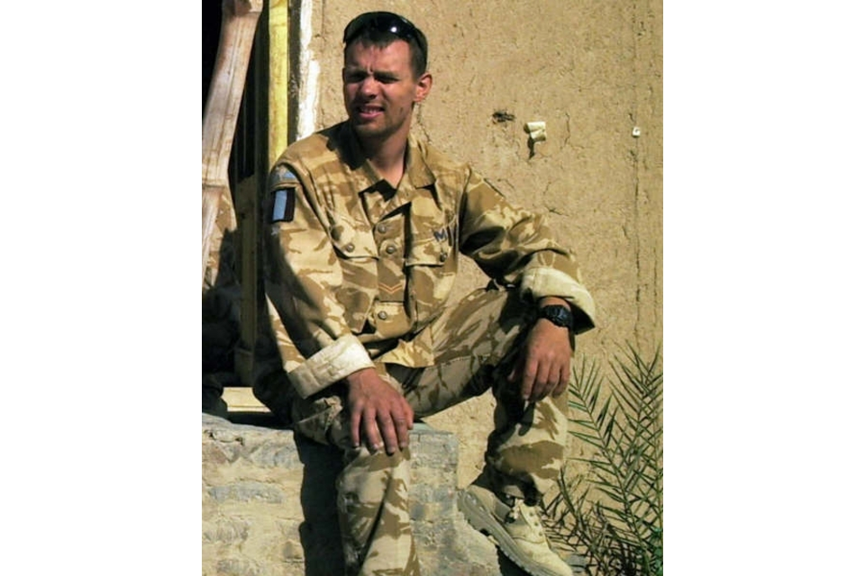 Corporal Peter Thorpe (All rights reserved.)