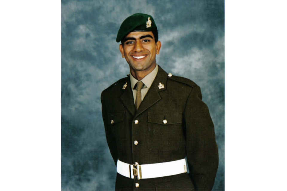 Lance Corporal Jabron Hashmi (All rights reserved.)