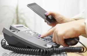 Mobile and landline