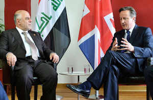 PM meeting with Prime Minister al-Abadi of Iraq