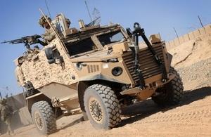 Foxhound vehicle