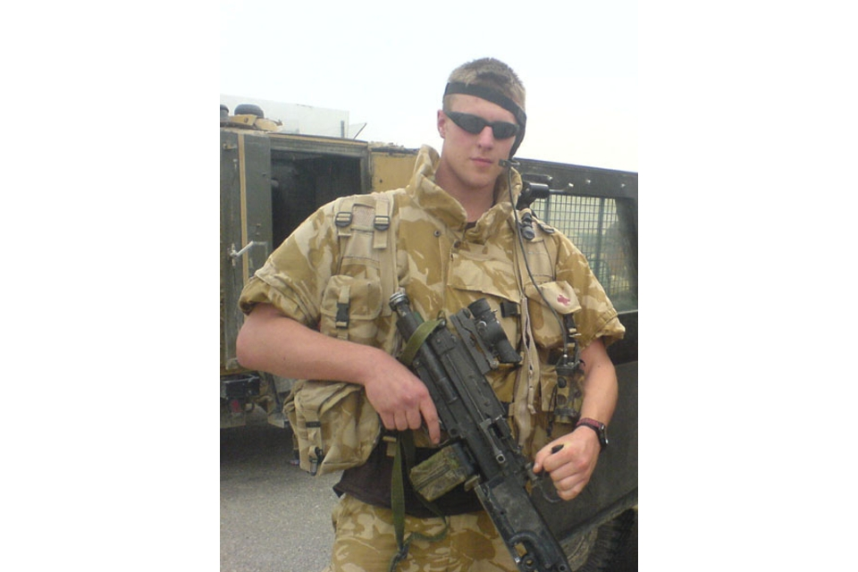 Private Adam Morris (All rights reserved.)