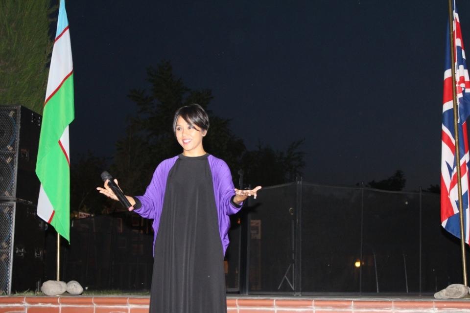 Sevara Nazarkhan - Uzbek pop singer