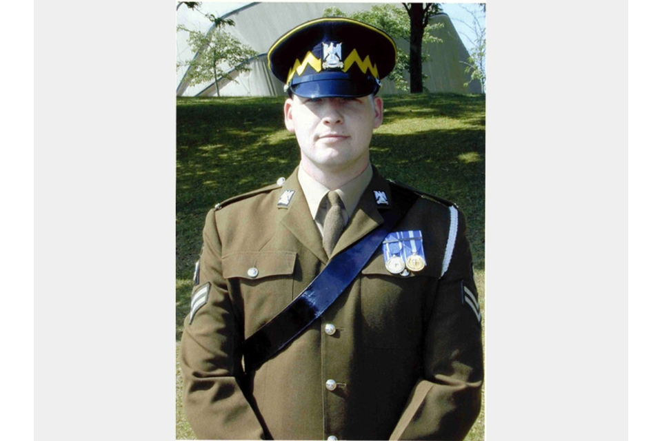Corporal Gordon Alexander Pritchard (All rights reserved.)