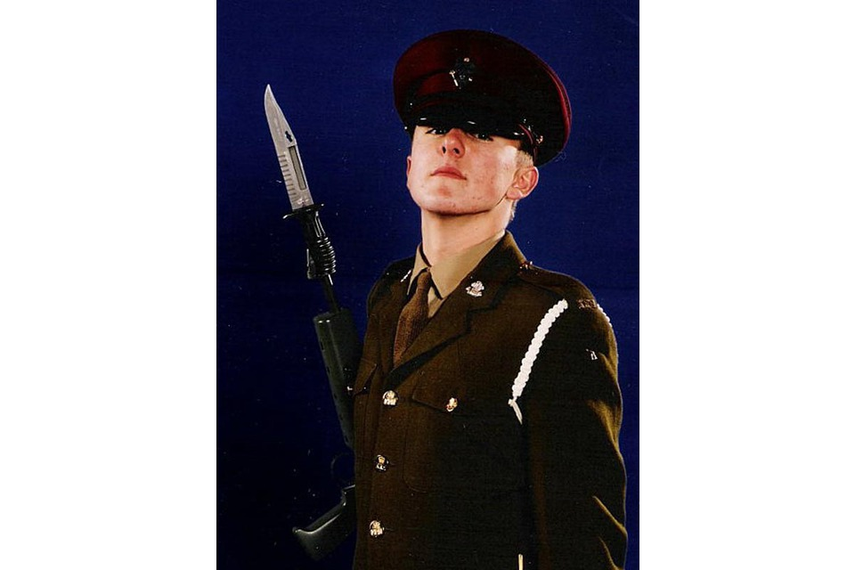 Lance Corporal Alan Brackenbury, of The King's Royal Hussars (All rights reserved.)