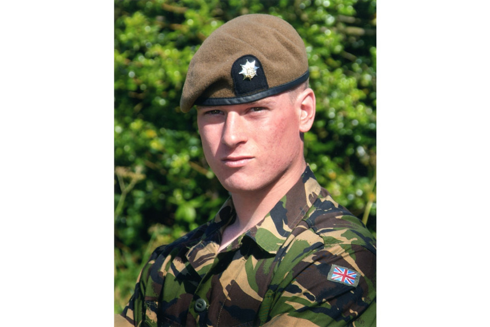 Lance Corporal Adam Drane (All rights reserved.)