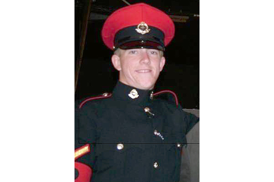Lance Corporal Michael Pritchard (All rights reserved.)