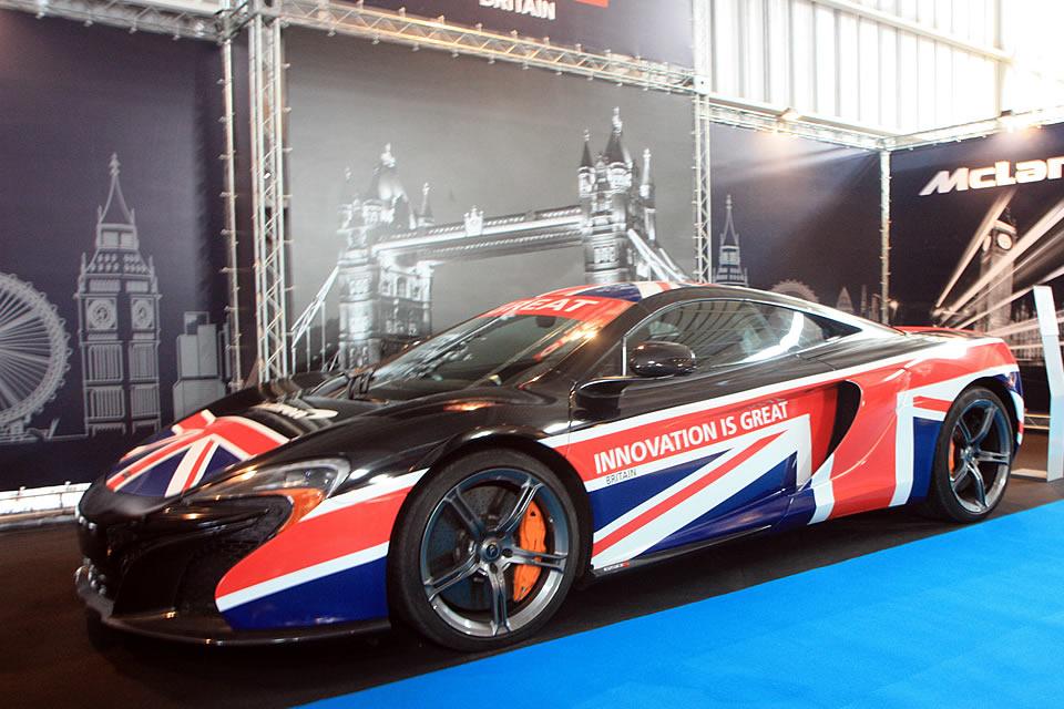 GREAT-branded McLaren.
