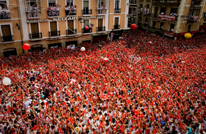 Heading to San Fermin, Bilbao BBK Live or Gay Pride Madrid this summer?