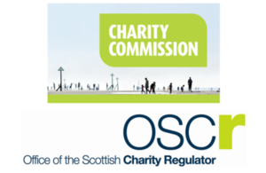 Charity Commission ans OSCR logos