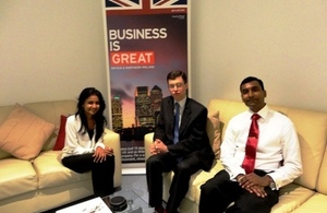 Chevening crisp fellows meeting the High Commissioner