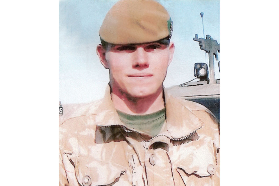Corporal Liam Riley (All rights reserved.)