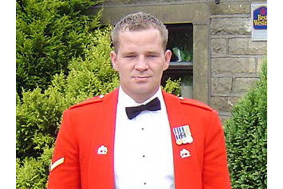 Lance Corporal Graham Shaw (All rights reserved.)