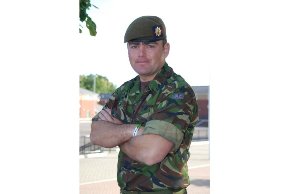 Lance Corporal Darren Hicks (All rights reserved.)