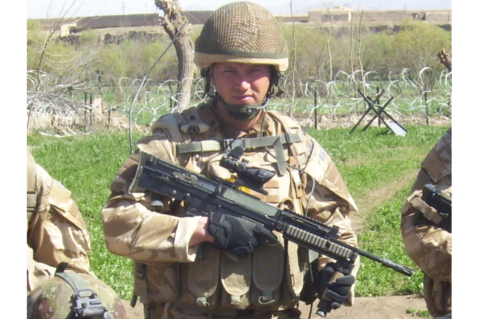 Corporal Stephen Thompson (All rights reserved.)