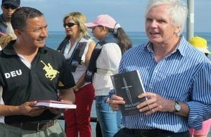Ambassador Patrick Mullee in Puerto López