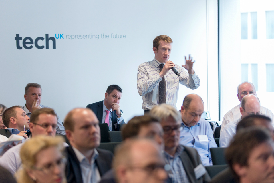 Audience at techUK