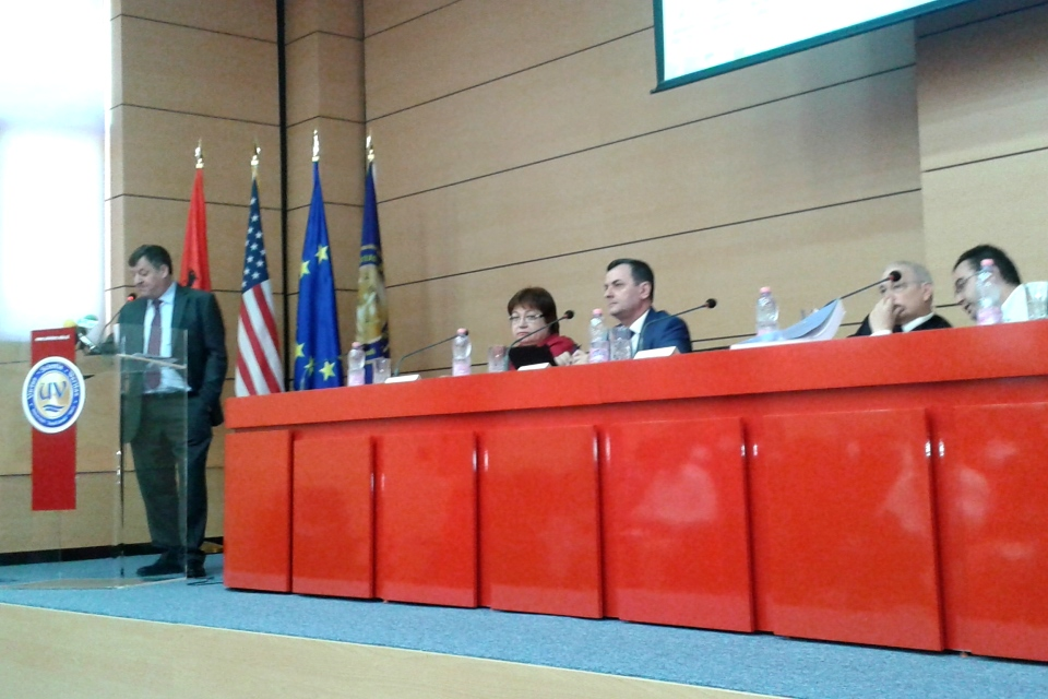 Public consultation forum on the judicial reform in Albania