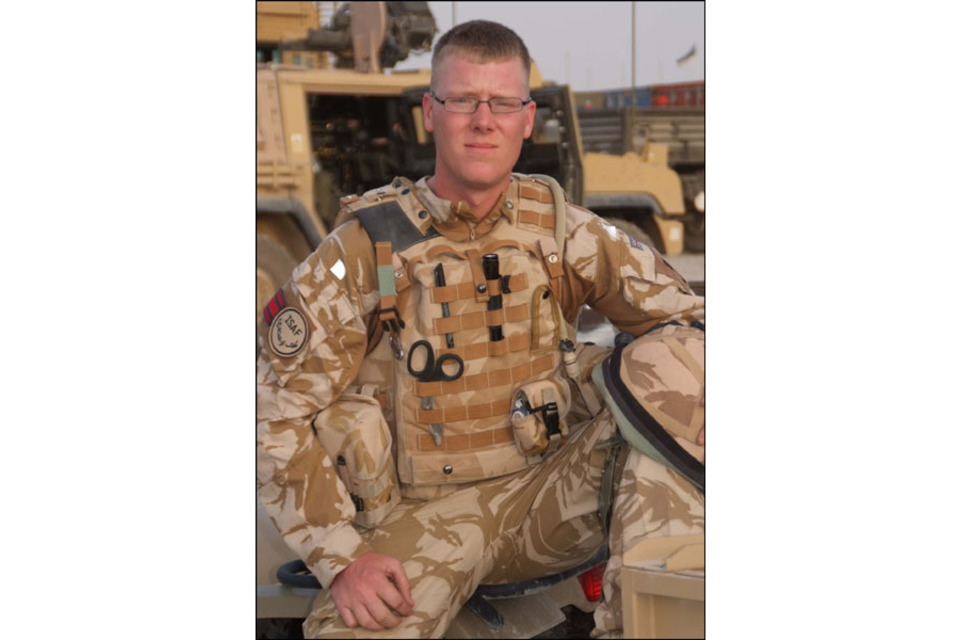 Lance Corporal Barry Buxton (All rights reserved.)