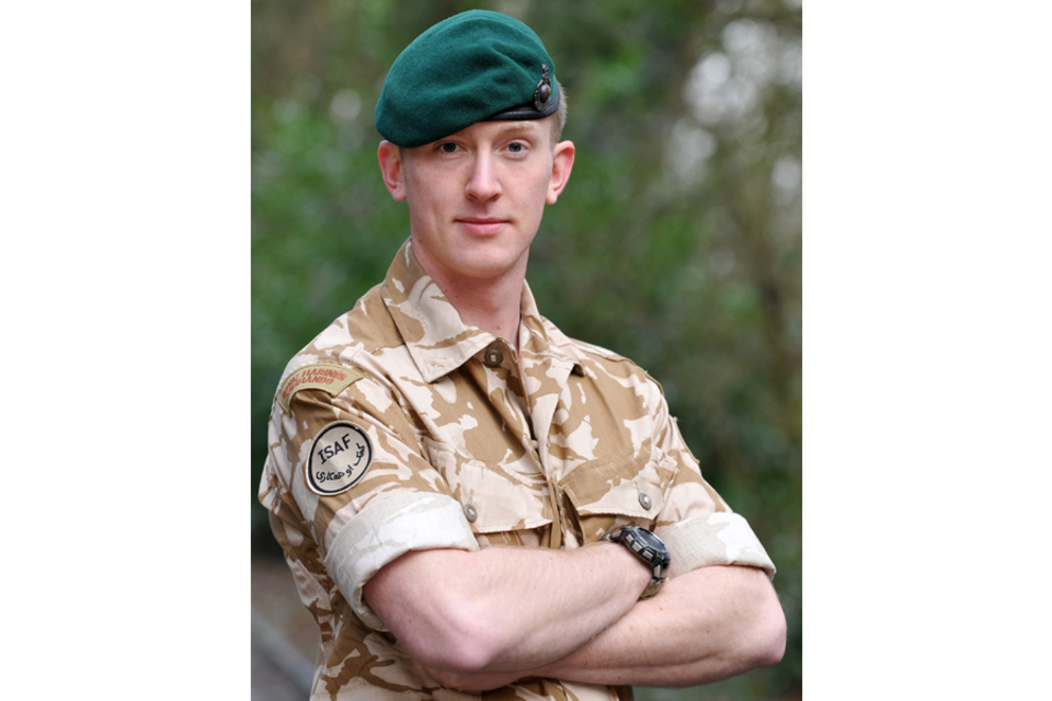 Corporal Christopher Harrison (All rights reserved.)