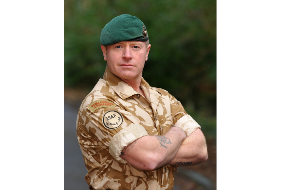 Corporal Stephen Walker RM (All rights reserved.)
