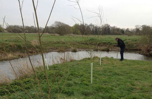 Planting trees to shade the Ouse