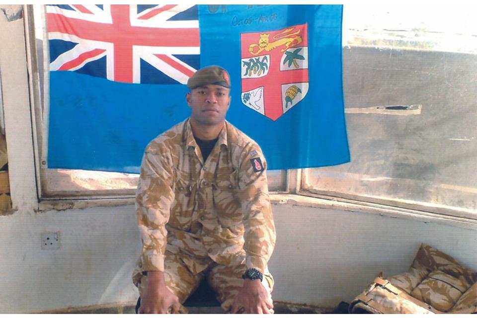 Corporal Taniela Tolevu Rogoiruwai (All rights reserved.)