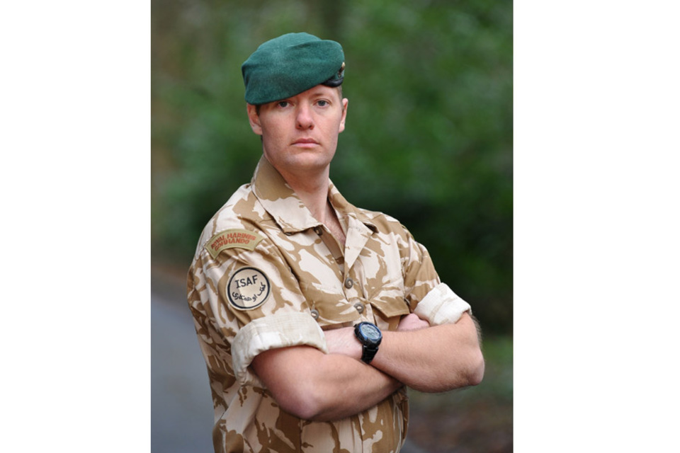 Lance Corporal Michael Taylor (All rights reserved.)