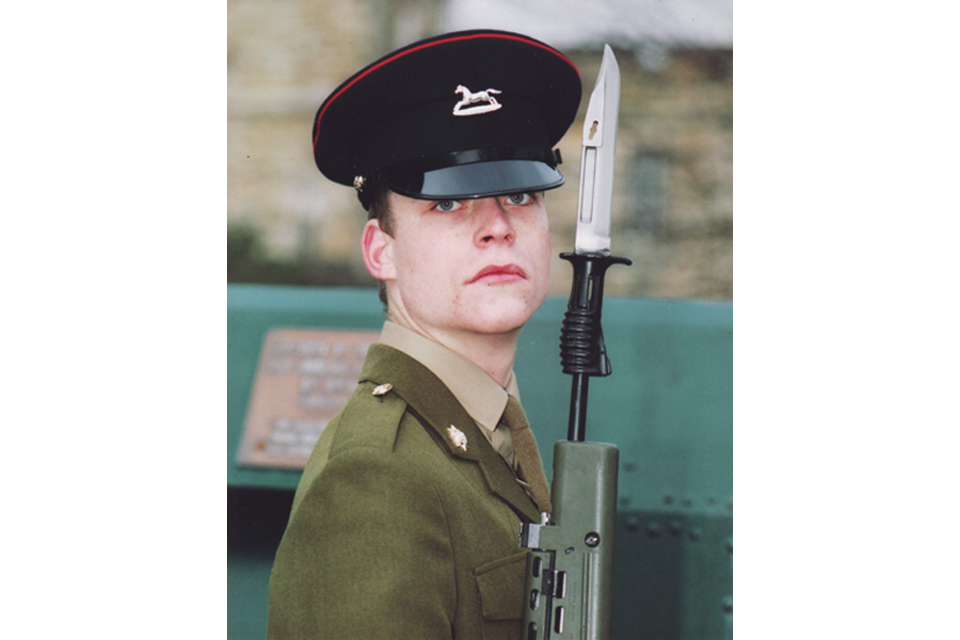Lance Corporal David Ramsden (All rights reserved.)